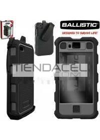 FUNDA BALLISTIC HC PROTECTOR IPHONE 4 Y 4S  GRIS - NEGRO