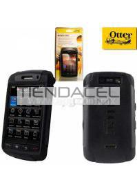 FUNDA OTTERBOX COMMUTER BLACKBERRY 9550 9520 STORM 2 NEGRA