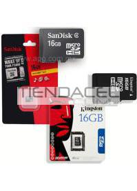 MEMORIA MICRO SD__16GB SANDISK/KINGSTON CLASE 4